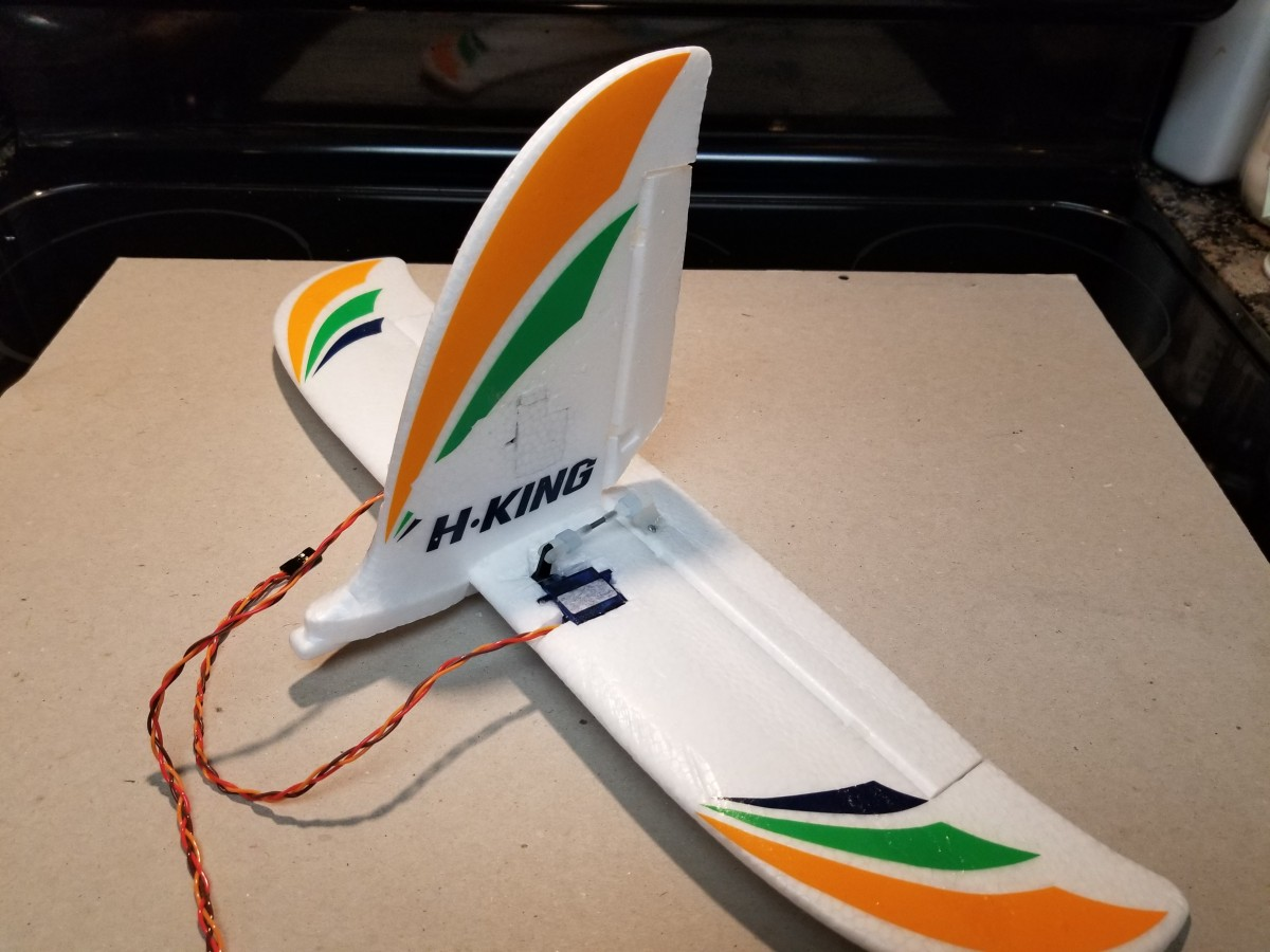Bixler 2 FPV Tail section